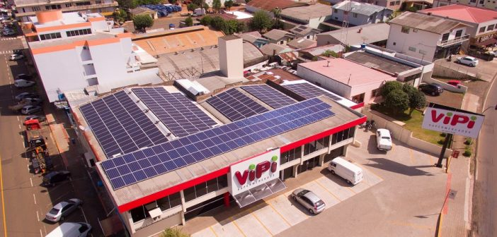Supermercado Vipi colhe primeiros resultados do uso de energia solar fotovoltaica
