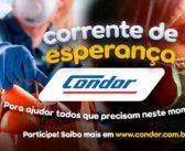Condor lança campanha para viabilizar doações