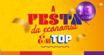Rede Top tem campanha de aniversário